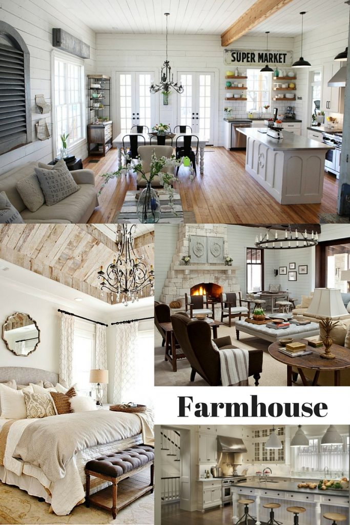 Calm and collected the blog interior design help for the for Farmhouse interior design characteristics