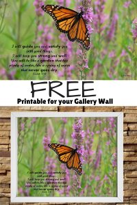 FREE Printable for your Gallery Wall