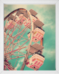 Vintage Ferris Wheel Print from 14 Fun Summer Printables for FREE -Calmandcollected.us
