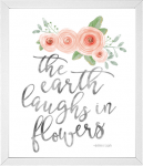 The Earth Laughs in Flowers Quote from 14 Fun Summer Printables for FREE -Calmandcollected.us