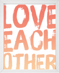 Love Each Other printable from 14 Fun Summer Printables for FREE -Calmandcollected.us