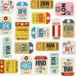 luggage tags printable from 24 Travel Printables for Free Curated by CalmandCollected.us