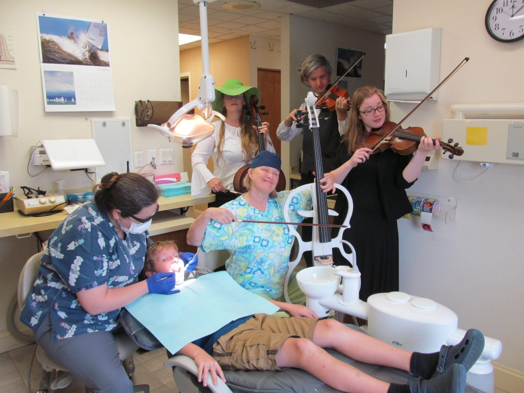 GISHWHES 2016 Dental String Quartet