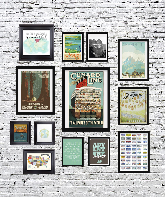 Second 13 of 24 Travel Printables for Free Curated by CalmandCollected.us