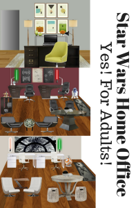 Star Wars Home Office Designs for adults by Jennifer Terry of Calm and Collected